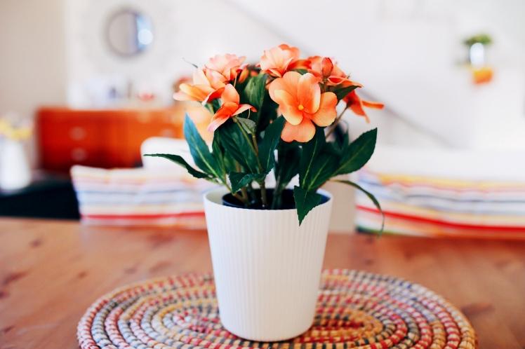 Marzo con flores